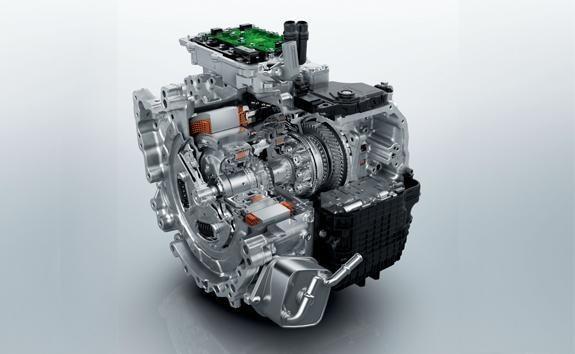Boite de vitesses automatique électrifiée e-EAT8