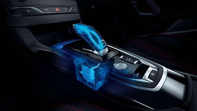 Nouvelle PEUGEOT 308 GT- Levier de vitesses