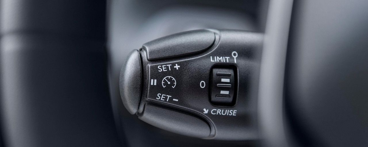 PEUGEOT PARTNER: profitez du confort simple du régulateur ou limiteur de vitesse