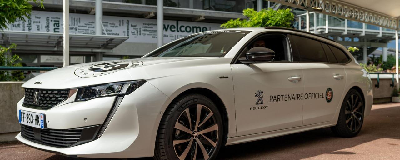 Roland Garros - Voiture Peugeot