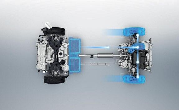 SUV PEUGEOT 3008 HYBRID4 : Freinage récupératif d'énergie