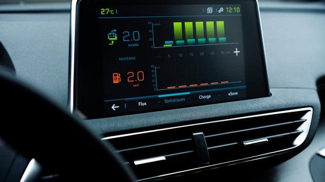 SUV PEUGEOT 3008 HYBRID4 - Ecran tactile HD