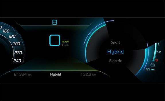 SUV PEUGEOT 3008 HYBRID4 : Modes de conduite