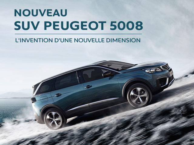 Nouveau Peugeot SUV 5008