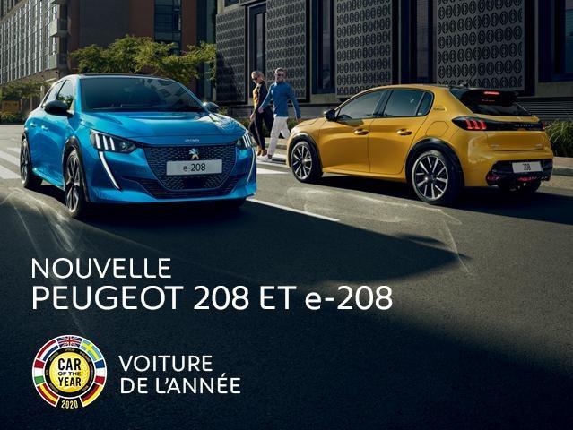 NOUVELLE PEUGEOT 208 - VOITURE DE L'ANNÉE