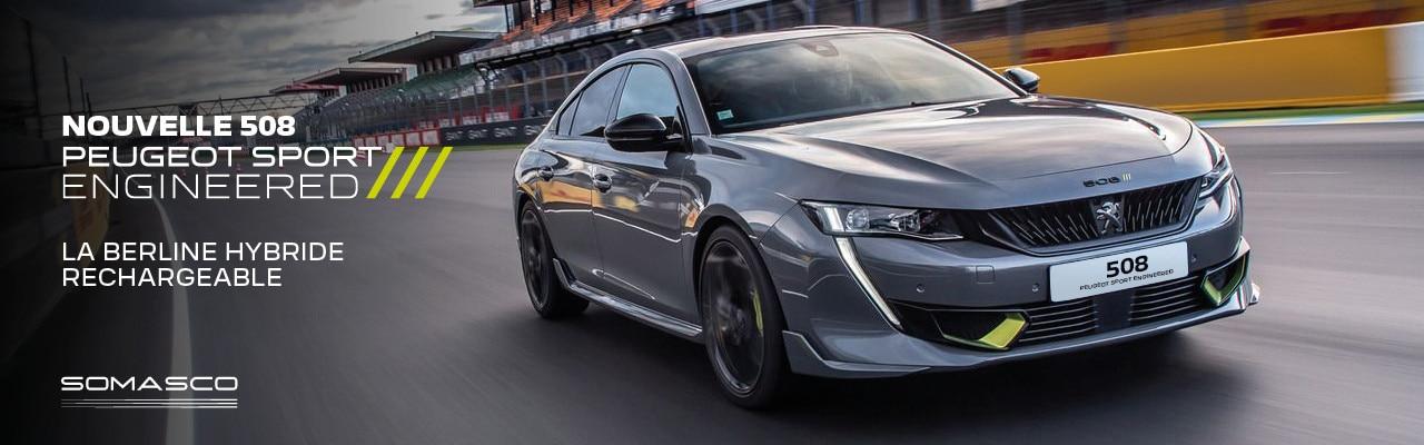 Nouvelle 508 Peugeot Sport Engineered