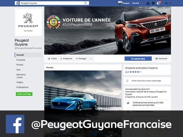 Facebook Peugeot GF