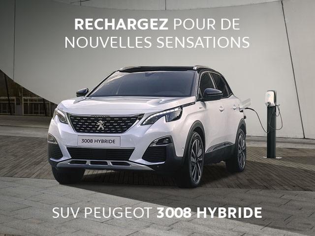 SUV Peugeot 3008 Hybride