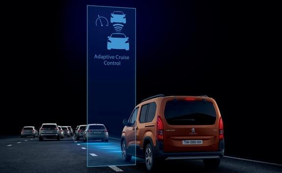 PEUGEOT RIFTER – Régulateur de vitesse adaptatif